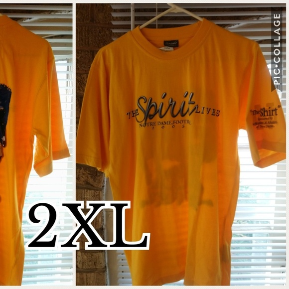 cc841067 Shirts | Notre Dame Spirit Tee | Poshmark